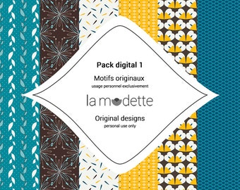 Digital paper - pack 1
