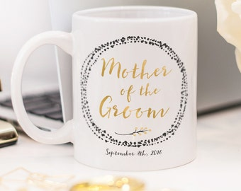 Mother of the Groom mug, customized Mother of the Groom gift