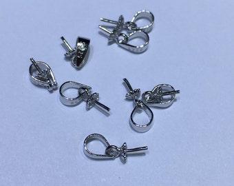 S925 sterling sliver pendant hook, for pendant,DIY,wholesale