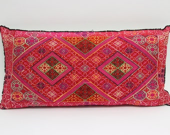 Antique Embroidered Cushion