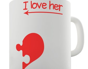 I Love Her Heart Ceramic Mug