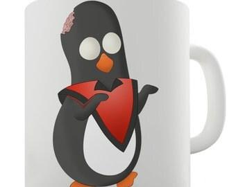Guin The Penguin Thriller Ceramic Funny Mug