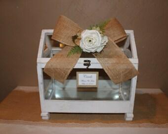 Wedding Card Box / Wedding Greenhouse Box / Greenhouse Card Box