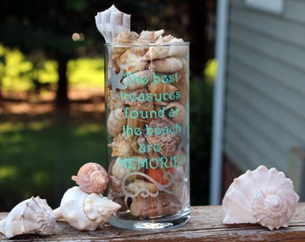 Beach Vase, Beach decor