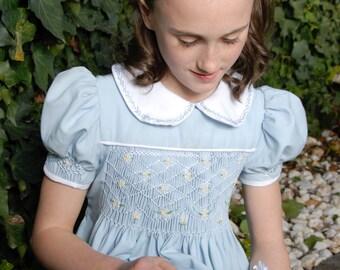 Smocking Embroidery Dress
