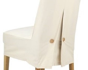 Chair cover DUNHAVRE 39x75x21cm natural