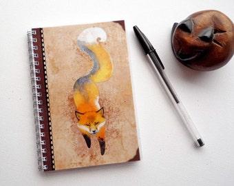Fox Spirit - Book illustrated, made hand
