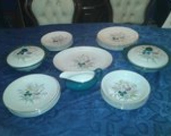Washington Vintage 1960's Dinner Service. Field fayre