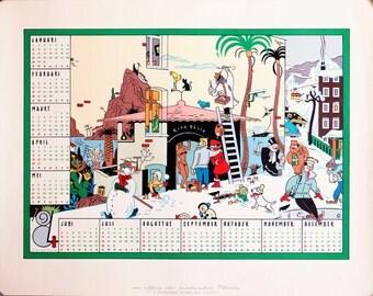 1984 calendar poster by Ever Meulen.
