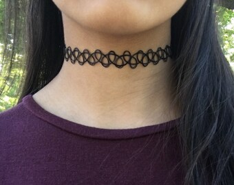 Black Tattoo Choker