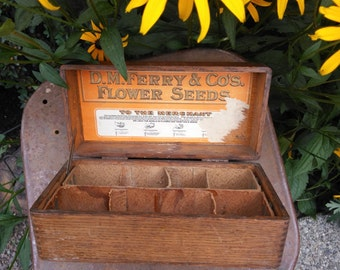 DM Ferry Co. Flower seed box
