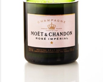 Moet & Chandon Rose  candle / on sale