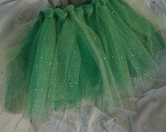 Sparkly Green Tulle Tutu