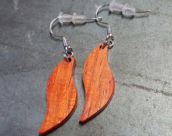 Padauk Wood Earrings