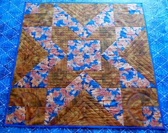 Fall Quilted Table or Bed Topper