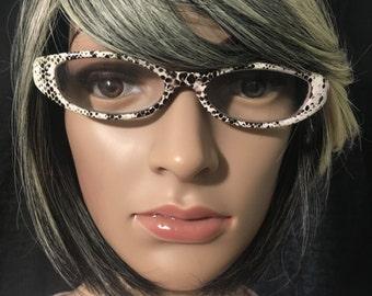 Black & White Prescription Glasses
