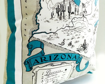 Arizona State Pillow Cover with Insert