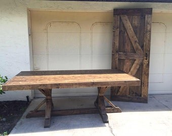 7ft Fancy Farmhouse Table (Local Pick up/Delivery Only!)