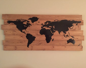 Hanging World Map