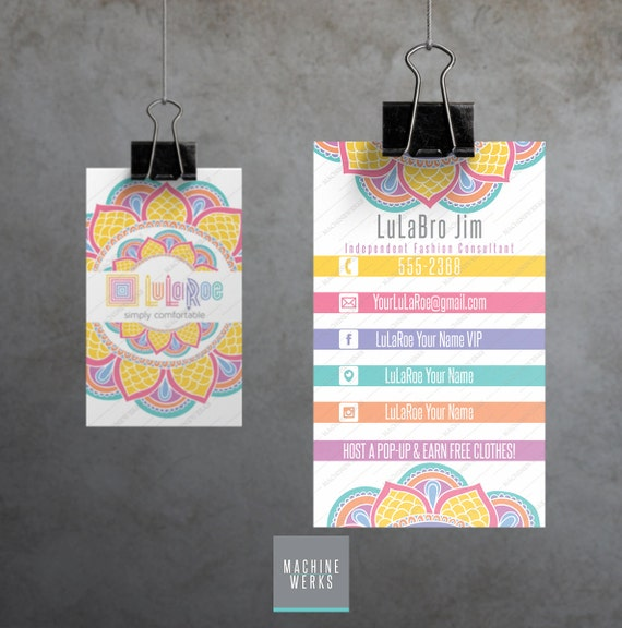 Lularoe business cards customizable printable by machinewerks for Vistaprint lularoe