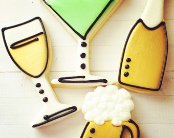 One Dozen Happy Hour Cookies