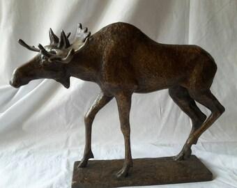 Sangerhausen bronze moose