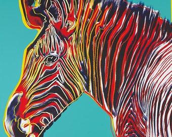 Andy Warhol - Grevy's Zebra