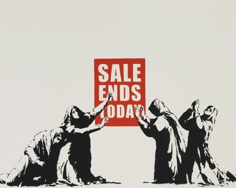 Banksy - Sales Ends Today