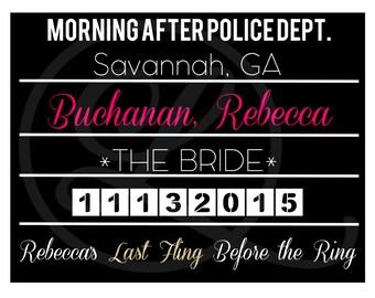 Bachelorette Mugshots (File Download)