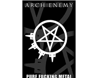 Arch Enemy - Pure F'ing Metal - Official Textile Poster Flag
