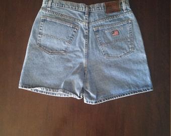 Ralph Lauren womens blue jean shorts