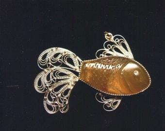"SALE! Pendant ""Goldfish"""