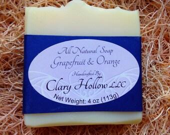 Grapefruit & Orange Essential Oil Soap