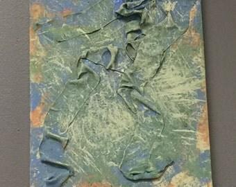 14x11 Acrylic on Canvas with Texture