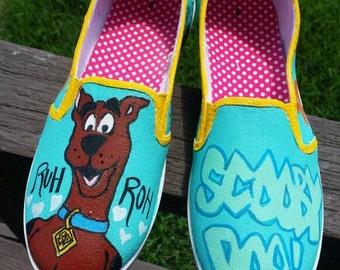 Scooby Doo Custom Shoe