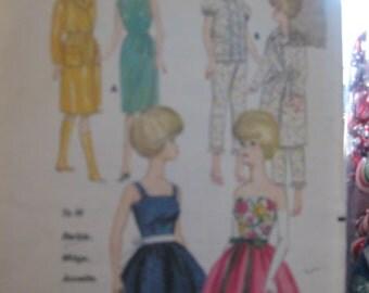 Pattern Butterick Vintage 3385 (1964)