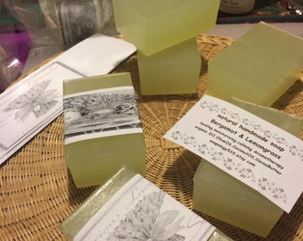 Bergamot Lemongrass Soap