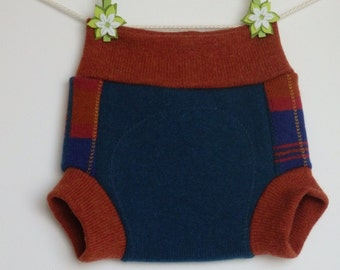 Woolen baby soakers, diaper covers, Size M