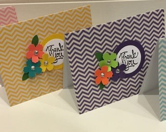 Thank you cards set of 4