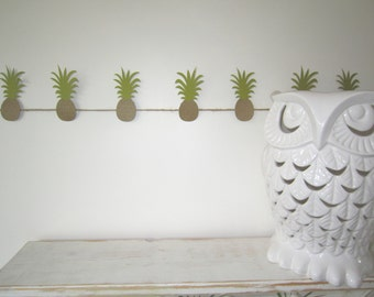 Pineapples Garland - Birthday Party, Anniversary, Baby Shower, Outdoor Party, Decor