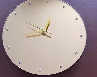 Gold Mirror clock