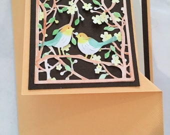 Caique or Bird Greeting Card
