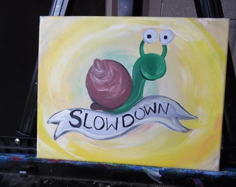Little Reminder from a Snail