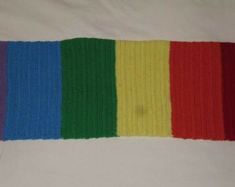 Handmade crochet baby rug