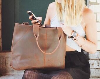 Gusti Leder 'Cecilia'  Leather Tote Bag