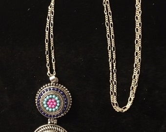 New Double Snap Necklace for women and teens