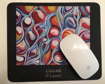 Mouse pad CASCADE mousepad by JT LAURITZ