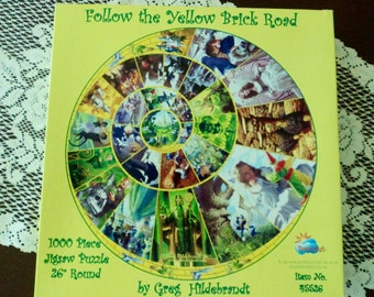 Follow the Yellow Brick Road Puzzle