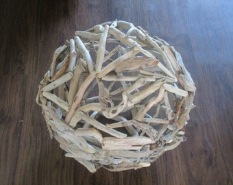 Oregon Coast Driftwood Ball