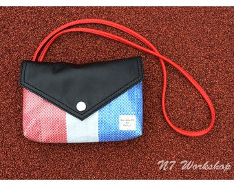REDWHITEBLUE LEATHER